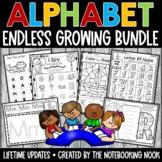 Letter of the Week: ENDLESS Alphabet Curriculum Activities BUNDLE