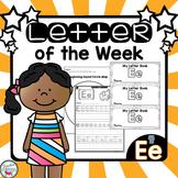 Letter E Activities