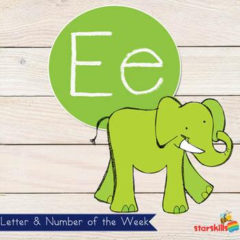Letter of the Week Ee Workbook