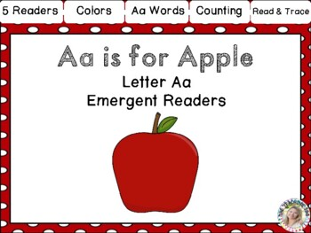 Letter of the Week Emergent Readers - A a