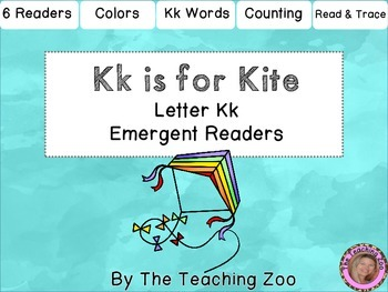 Letter of the Week Emergent Readers - K k