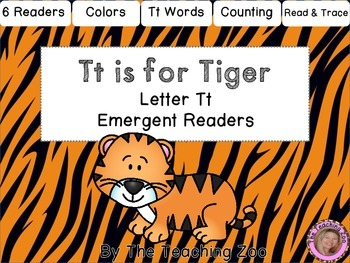 Letter of the Week Emergent Readers - Letter T
