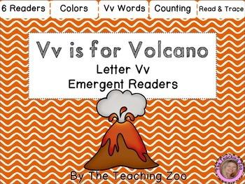 Letter of the Week Emergent Readers - Letter V