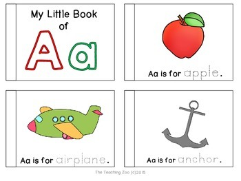 Letter of the Week Emergent Readers - The BUNDLE!