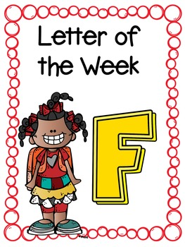 Letter of the Week- F