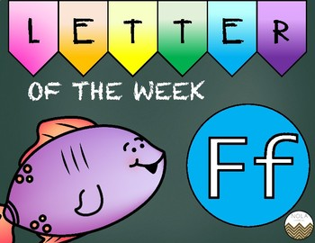 Letter of the Week -F- Activity Pack