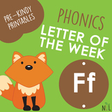 Letter of the Week - F - Phonic activities