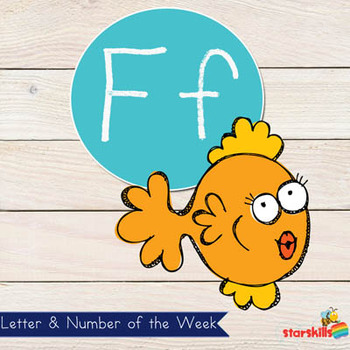 Letter of the Week Ff Workbook