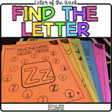 Letter of the Week - Find the Letter