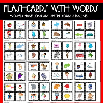 Letter of the Week Flashcards and Alphabet Posters