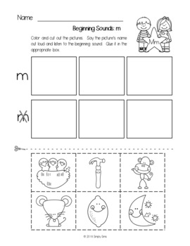 ABC Letter of the Week Freebie!