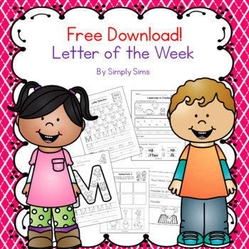Free Download! ABC Letter of the Week