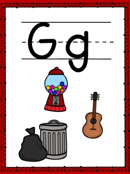 Letter of the Week- G