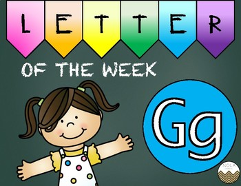 Letter of the Week -G- Activity Pack
