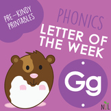 Letter of the Week - G - Phonic activities