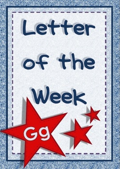 Letter of the Week - Gg