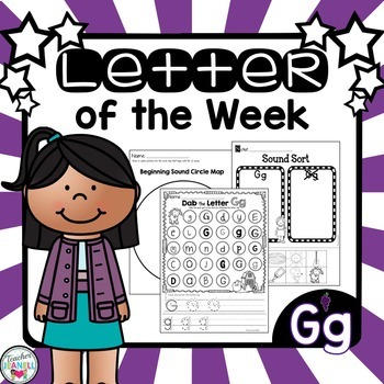 Alphabet Letter of the Week - Gg