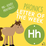 Letter of the Week - H - Phonic activities