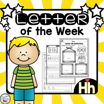 Alphabet Letter of the Week - Hh