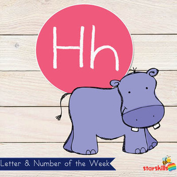 Letter of the Week Hh Workbook