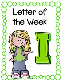 Letter of the Week- I