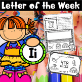 Flash Freebie! Letter of the Week - I