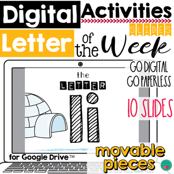 Letter of the Week I DIGITAL