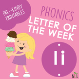 Letter of the Week - I - Phonic activities