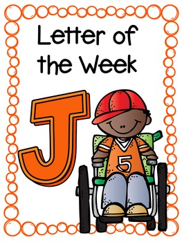 Letter of the Week- J