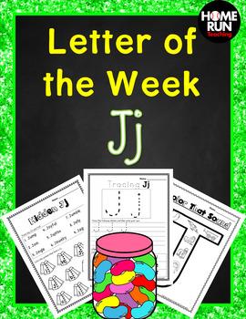 Alphabet Letter of the Week J