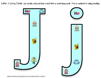 Letter of the Week -J- Activity Pack