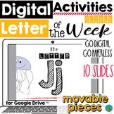 Letter of the Week J DIGITAL