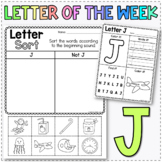 Letter of the Week J - Learn the Alphabet