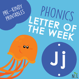 Letter of the Week - J - Phonic activities