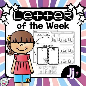 Alphabet Letter of the Week - Jj