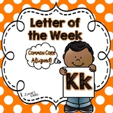 Letter of the Week: K {Distance Learning}