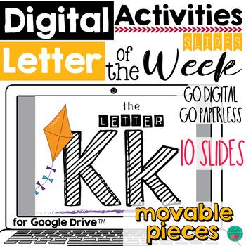Letter of the Week K DIGITAL