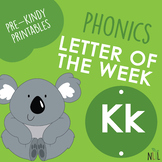 Letter of the Week - K - Phonic activities