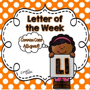 Letter of the Week: L {Distance Learning}