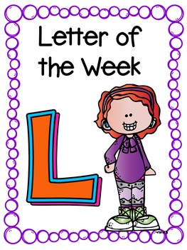 Letter of the Week- L