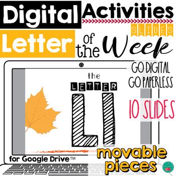 Letter of the Week L DIGITAL