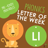 Letter of the Week - L - Phonic activities