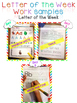 Letter of the Week - LETTER Cc - Writing, phonics, and letter work for a week