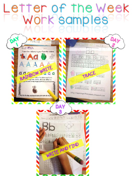 Letter of the Week - LETTER Ii - Writing, phonics, and letter work for a week