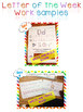 Letter of the Week - LETTER Ww - Writing, phonics, and letter work for a week