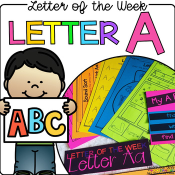 Letter of the Week - Letter A