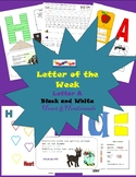 Letter of the Week Letter A