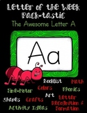 Letter of the Week: Letter A Pack-tastic