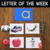 Letter of the Week - Letter A Preschool Unit