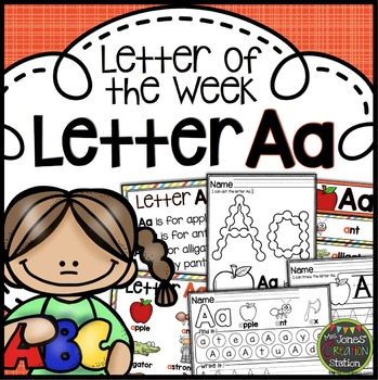 Letter of the Week {Letter Aa}